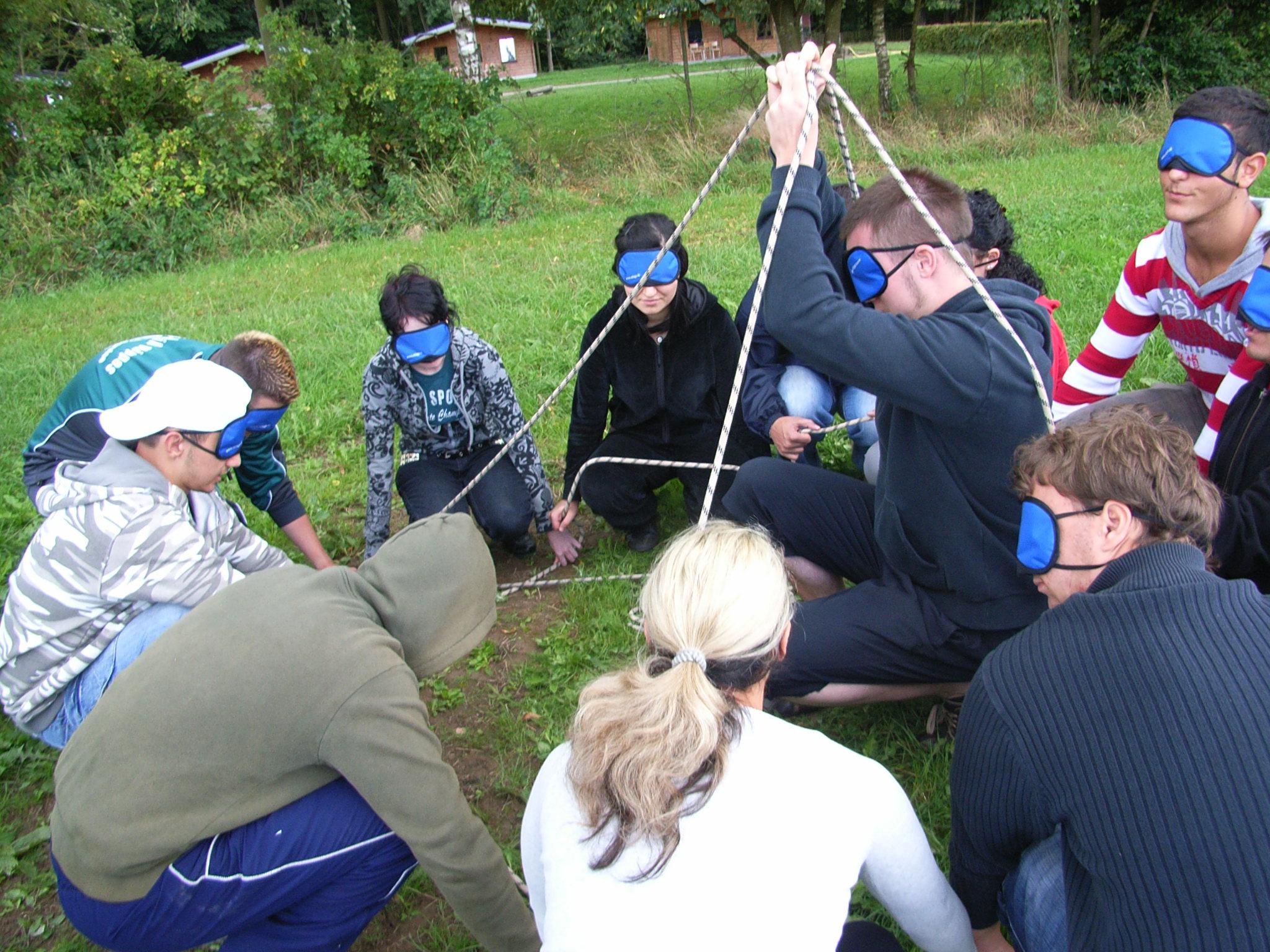Gruppenaufgaben kennenlernen